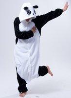ladies pajamas - Kongfu Panda Animal Onesie Fleece Pajamas Onesie Jumpsuit Sleepwear Romper Women Ladies One Piece Pyjama Anime Cosplay Animal Costumes