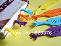Wholesale DHL Help Me Colorful Bookmarks finger bookmarks