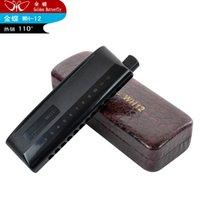 arc surface - Chromatic harmonica kingdie wh12 abs scrub surface arc type dull black