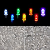 Wholesale 100 mm Round Top Red Yellow Blue Purple White Green Orange LED Light Emitting Diode