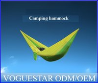 Wholesale Leisure Parachute Hammock for People Outdoor enjoy rest on the tree Portable Nylon Parachute Hammock for Camping Travel OUT014