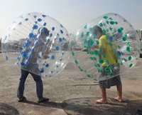 Cheap Wholesale-1.5M 1.0mm TPU Top Selling Giant Inflatable Bubble Ball,Zorb,Bubble Soccer Suits,Bumper Ball,Loopy Ball,Human Hamster Ball