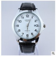 Wholesale Best selling New Fashion luxury simplicity generosity leather calendar watches
