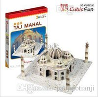 baby toys india - India Taj Mahal mini D jigsaw puzzle model for children Baby educational toys family interaction