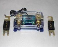 anl fuse holders - DIGITAL PLATINUM ANL DIST BLOCK GAUGE FUSE HOLDER SKFH125BG FREE ANL FUSE100