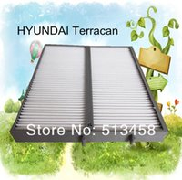 Wholesale CU2441 low price car white fiber carbin air filter for Hyundai H1742 auto part cm CA2810 A3