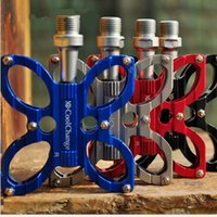 Wholesale Riding Cycling Equipped With Non slip Pedal Grinding Lightweight Aluminum Mountain Bike Bicycle Cycling Bike Pedals