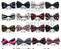 Wholesale Unisex Neck Bowtie Bow Tie Adjustable Bow Tie high quality metal adjustment buckles Optional multi style