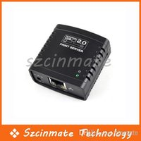 Cheap USB 2.0 Ethernet Networking LPR Print Server Share Hub Wholesale