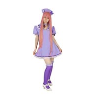 Wholesale Milica Books Japanese Anime VOCALOID Family Love Colored Ward Megurine Luka Nurse Cosplay Costume The Deluxe Original Version