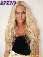 Cheap Platinum Blonde Silk Top Full Lace Wig Best Human Hair Virgin Lace Wigs