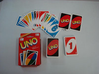 Wholesale 2016 New UNO poker card standard edition family fun entermainment board game Kids funny Puzzle game UNO card board games