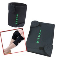 Wholesale Health Care Pair Tourmaline Self Heating Knee Pads Far Infrared Magnetic Therapy Spontaneous Heating Pad HB88