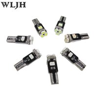 automotive wedge bulbs - T5 SMD LED Automotive Car Lights Bulb Dashboards Gauge Indicator Bulbs Ignition Lights For All T5 Wedge SMD