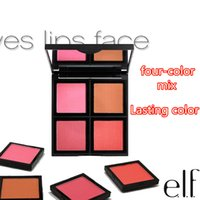 elf makeup - Elf studi series maquiagem four color mix Blush repair capacity disk Lasting color light and dark colors new Brand makeup