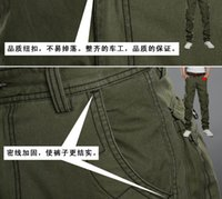 air force pants - Air Force Trousers Mens Casual Outdoor Pant Military Army Cargo Camo Combat Work Trouser Multi Pocket Pants Colors