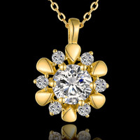 Wholesale New Arrival k Platinum Gold Rose Gold Plated Fashion Necklace Jewelry KN848
