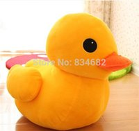 Cheap FG1511 J.G Chen 30cm Lovely Duck Plush Toys Yellow Duck Doll Rubber Duck Doll Plush Brinquedos Toys for Children Classic Toys
