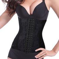authentic steel boned corsets - Women Authentic Full Steel Boned Underbust Waist Cincher Shaper Body Control Corset B1
