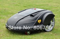 Wholesale FEDEX Robot Lawn Mower With Newest Function ELECONTRONIC COMPASS Remote Controller Auto Recharged Time Set