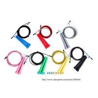 Wholesale New Sale M jump rope Steel Wire skipping Rope Adjustable speed rope crossfit Sport Fitness equipment Black TK0681