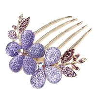 Wholesale IMC Crystal Hair Clips Hairpins Combs For Hair Clip Beauty Tools order lt no track