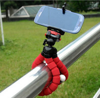 Wholesale DHL Flexible Octopus Digital Camera Tripod Holder Universal Gopro Mount Bracket Stand Display Support For Cell Phone Accessories