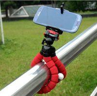 DHL 2016 pulpo flexible del trípode de cámara digital Holder, Universal Gopro soporte de montaje en la exhibición del soporte de soporte para los accesorios del teléfono celular