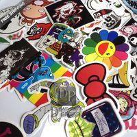 Wholesale single sticker waterproof home decor Doodle laptop motorcycle bike travelcase anime hellaflush jdm Car accessories