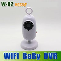 Wholesale HD P Wireless WIFI Baby DVR Video Surveillance Camera Baby DVR For iphone For ipad Android waitingyou