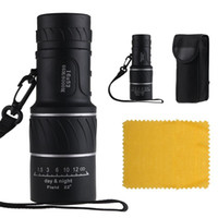 Wholesale Swell Night Vision x52 Dual Focus Optics Zoom Lens Camping Monocular Telescope