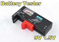 Wholesale 10pcs Traveling Universal Portable BT Digital Battery Tester for V V Battery and Cell Battery AAA