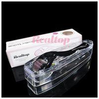 Wholesale Realtop micro needles derma roller skin dermaroller Micro Needles Derma Rolling System Microneedle Dermaroller Fast shipping MOQ1PCS