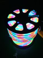 flexible neon light strip - RGB LED flexible neon wire light decorative led landscape lamps Strip