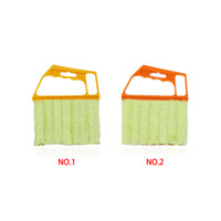 best toilet brushes - Newest hot saling Multifunctional Orange Feather Dusters Dust Cleaning Brush For Blinds Best Deal Mini Duster