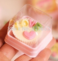Wholesale Single pink mini mooncake boxes chocolate decoration packaging for wedding festival party free shiping