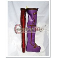 batman begins costume - Batman Begins Shoes Harley Quinn Cosplay Boots For Adult s Halloween Shoes Custom Made D0829