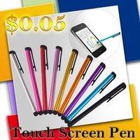 pen - 2015 Stylus Pen Touch Screen Pen With Capacitive Color Colorful Universal Touch Screen Pen Stylus Pen For ipad2 iPhone Samsung S6