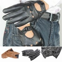 driving gloves - Brand New Unisex Sheepskin Driving Gloves Winter Warm Cycling Sports Ski Gloves Colors Choose EMO