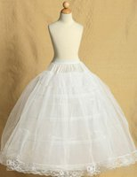 children petticoat - 2015 Hot Sale High Quality New List Wedding Party Child Ball Gown Petticoat For Flower Girl Dress