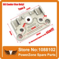 aluminium oil cooler - Dirt Bike Pit Bike Monkey Bike cc cc cc cc cc Oil Cooler Aluminium Adapter Engine Cylinder Cover
