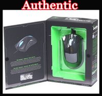 Wholesale NEW Authentic Razer Death Adder DeathAdder Mouse Mice DPI Competitive Games Factoryworld churchill with Retail packaging Best Selling