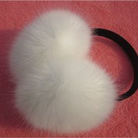 autumn candles - Winter Spring Autumn Women Warm Fur Earmuffs Girl s Earlap Ultralarge Rabbit Hair Earflap Ladie s Cute Eartab Plush Ear Muff