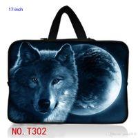alienware - Stylish Wolfs quot Laptop Sleeve Bag Case Cover Pouch Hide Handle For Dell Alienware M17X R3