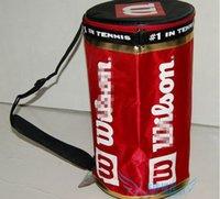 Ведра оптовой Цены-Оптово-Бесплатная доставка 2015 Новый дешевый Wilsonsports мешок теннисный мяч мешки мяч ведро мешок баррель мешок изоляции емкости, 80-100 теннис