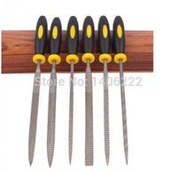 Wholesale 6pcs sets mm Mini Assorted Rasp Woodworking File Annatto File Hardwood Mini DIY File for Carved Grinding order lt no track