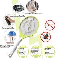 bats electric - Rechargeable Electric Insect Bug Bat Wasp Mosquito Zapper Swatter Racket anti mosquito killer Electric Mosquito Swatter ss270