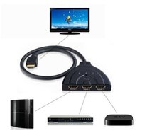 Wholesale High Quality HDMI Splitter m HDMI Input to HDMI Output Auto Switch Cable V529