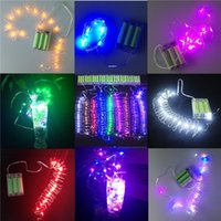 battery operated lights - led strings AA Battery Power Operated LED strip Copper Wire Fairy Lights String M leds led light Christmas Xmas led lights