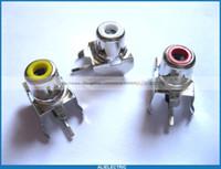 av pin jack - 60 AV AV Pin Jack Color RCA Female Audio Video AV Socket Connector